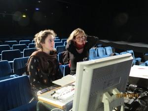 Vera et Blandine en répétition au Théâtre des Sources à Fontenay-aux-roses